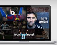 Messi team