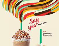 Danny Ivan for Starbucks - Say Yes - 2014
