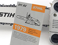 History of STIHL chainsaws