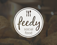 Feedy - logo design