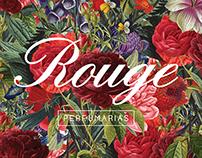 Rouge Perfumarias - Branding