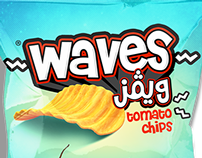 WAVES  CHIPS PACKS