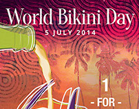 World Bikini Day 2014 Wall Poster