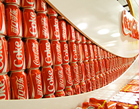 Shop in shop  Coca-Cola WORLD CUP 2014