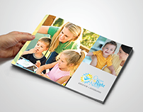 CTR Nanny Agency Brand Style Guide and Logo Design