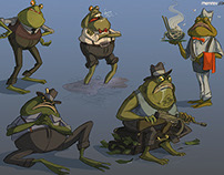 Characterdesigns - SwampMaffia