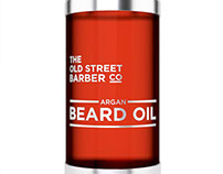 The Old Street Barber Co Branding and Packaging