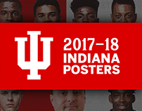 2017-18 Indiana Athletics' Posters