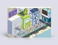 Asecro Town Illustration