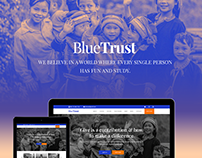 BlueTrust Charity Website