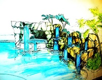 Hardscaping Ideas For Backyard Waterfalls