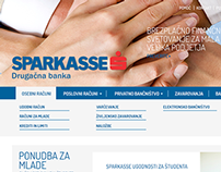 SLO Sparkasse website (redesign)