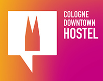 "Branding ""Cologne Downtown Hostel"""