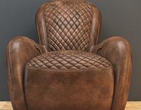 armchair - test render