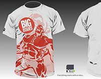 Big Issues - Tee shirt design