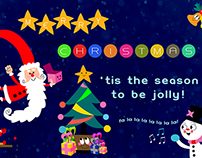 School Project: Christmas/New Year Card Designs