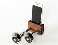 Non-Electrical Double Horn Speaker