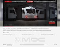 MDC, корпоративный сайт