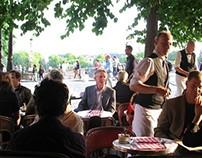 La Brasserie de l'Isle St. Louis, Paris.