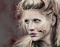 FAN ART VIKINGS - LAGERTHA