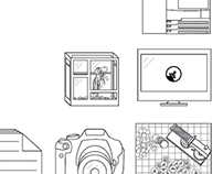 Line Drawing Commonvision Logo