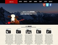 Mont Blanc Responsive Design