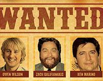 WANTED poster - Loomis Fargo cast - Ashvegas