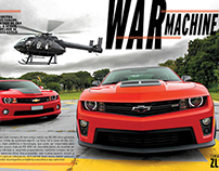 Camaros radicais - War machine