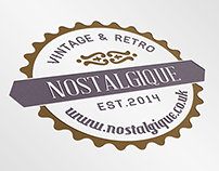 Nostalgique Logo and Identity