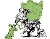 Green Lantern: Across Time Doodles