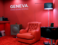 Chair & Display For Geneva