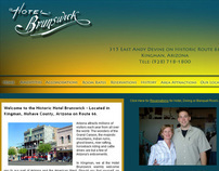 Hotel Brunswick Website Project