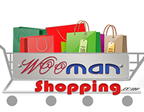 Logo designed for Wooman Shopping