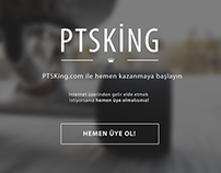 PTSKing.com için internet sitesi tasarımı