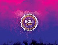Holi Lakes Festival — Branding