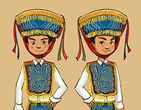 Proyecto Nación Sabor - personajes