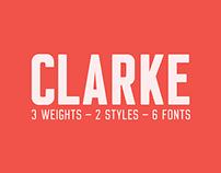 Clarke - Typeface