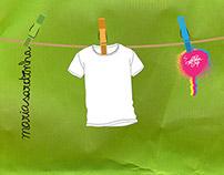 MariaSardinha T-shirt ::: Launch Party