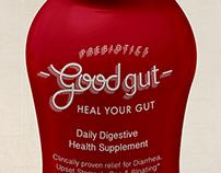 GoodGut - Logo and Label