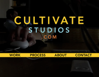 Cultivate Studios Microsite