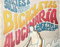 Poster. Bicicletas + Alucinaria