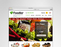 Foodler food delivery website