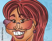 Caricatura - Historieta - Digital - Personaje