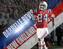 Darrelle Revis Patriots (Jersey Swap) Wallpaper