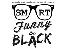 Smart, Funny & Black Logo