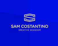 Sam Costantino Logo Identity