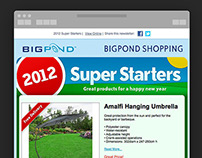 Telstra Bigpond Shopping eDM Newsletter