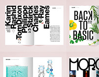 ĐẸP magazine / layout design