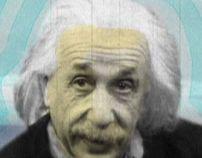 Einstein a la Platja