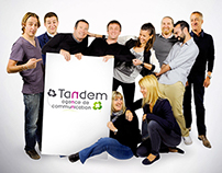 Tandem Communication Agency Team